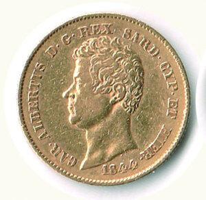 obverse: SAVOIA - Carlo Alberto - 20 Lire 1844 To.