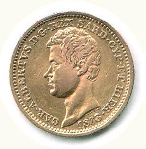 obverse: SAVOIA - Carlo Alberto - 10 Lire 1833 Ge.