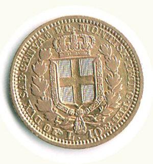 reverse: SAVOIA - Carlo Alberto - 10 Lire 1833 Ge.