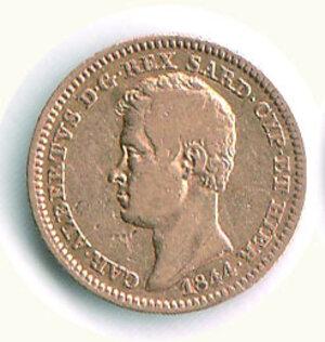 obverse: SAVOIA - Carlo Alberto - 10 Lire 1844 Ge.