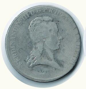obverse: FIRENZE Ferdinando III Francescone 1799