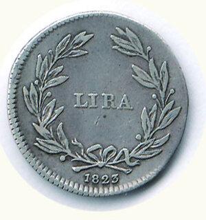 reverse: FIRENZE - Ferdinando III di Lorena (1790-1824) - Lira 1823.