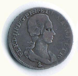 obverse: FIRENZE - Ferdinando III di Lorena (1790-1824) - 1/2 Paolo 1792.