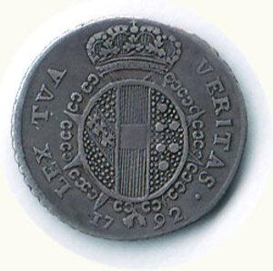 reverse: FIRENZE - Ferdinando III di Lorena (1790-1824) - 1/2 Paolo 1792.