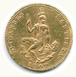 obverse: FIRENZE - Regno d'Etruria - Carlo Ludovico - Ruspone 1807