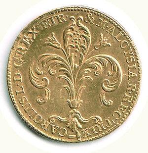 reverse: FIRENZE - Regno d'Etruria - Carlo Ludovico - Ruspone 1807