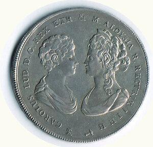 obverse: FIRENZE - Carlo Ludovico - Reggenza - 10 Paoli 1806