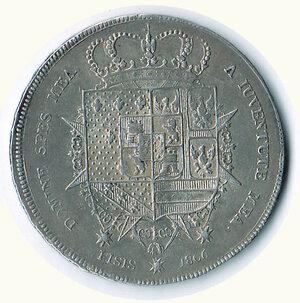reverse: FIRENZE - Carlo Ludovico - Reggenza - 10 Paoli 1806