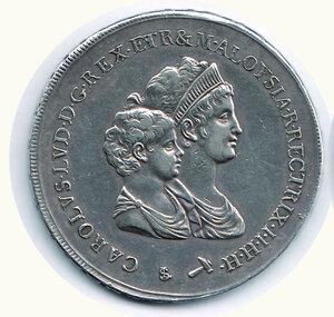 obverse: FIRENZE - Carlo Ludovico - Reggenza della madre - Dena 1807.