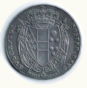 reverse: FIRENZE - Leopoldo II - Mezzo Francescone