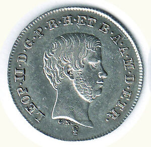 obverse: FIRENZE - Leopoldo II - Paolo 1845.