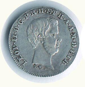 obverse: FIRENZE - Leopoldo II - ½ Paolo 1857 - Mont 368.