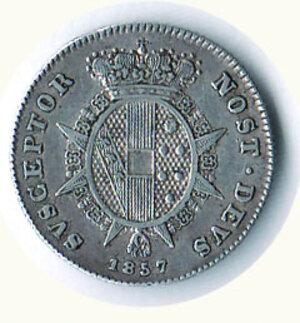 reverse: FIRENZE - Leopoldo II - ½ Paolo 1857 - Mont 368.