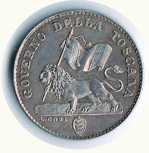 obverse: FIRENZE - Governo provvisorio di Toscana 1859 - Fiorino.
