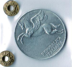 reverse: REPUBBLICA - 10 Lire 1946 - Sigillata Olivari.