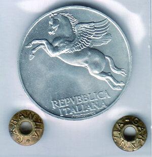 reverse: REPUBBLICA - 10 Lire 1947