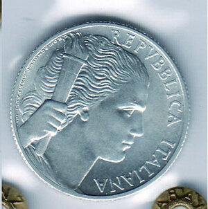 reverse: REPUBBLICA - 5 Lire 1947