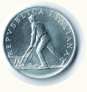 reverse: REPUBBLICA - 2 Lire 1950.