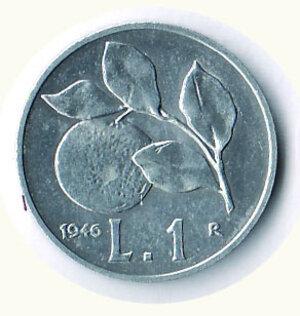 obverse: REPUBBLICA - Lira 1946.