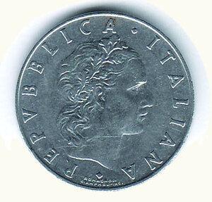reverse: REPUBBLICA ITALIANA 50 lire 1960