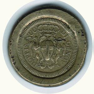 obverse: GENOVA Peso del 96 lire Oro - Stemma barocco
