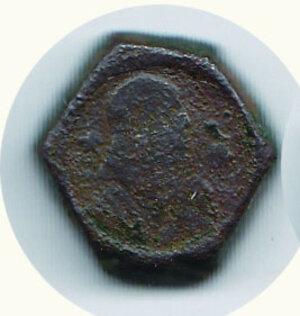 obverse: MILANO Peso del Testone di G. Galeazzo M. Sforza e Ludovico M. Sforza - peso 9,0 g. -