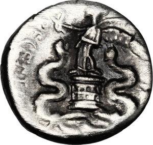 reverse: Augustus (27 BC - 14 AD).. AR Quinarius, uncertain italian mint (Brundisium and Rome?), 29-27 BC