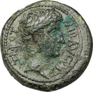 obverse: Augustus (27 BC - 14 AD).. AE Unit, Antioch mint, Syria