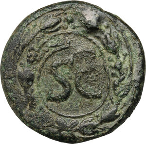 reverse: Augustus (27 BC - 14 AD).. AE Unit, Antioch mint, Syria