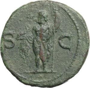 reverse: Agrippa (died in 12 AD).. AE As, struck under Gaius, 37-41