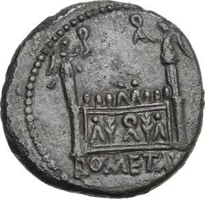 reverse: Tiberius (14-37).. AE As, 14-21, Lugdunum mint