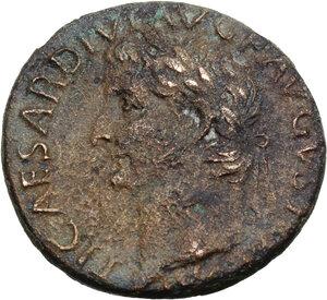 obverse: Tiberius (14-37).. AE As, 35-36 AD
