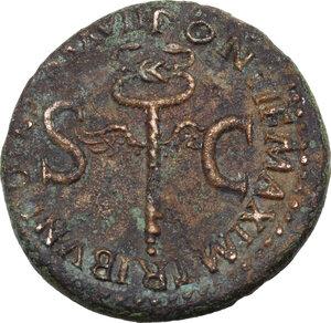 reverse: Tiberius (14-37).. AE As, 35-36 AD