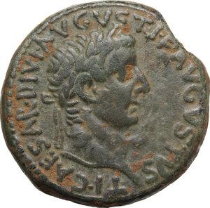 obverse: Tiberius (14-37).. AE Dupondus, 19-21, Commagene mint