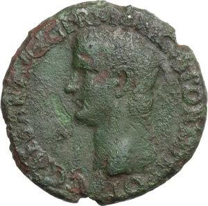 obverse: Gaius (37-41).. AE As, 37-38