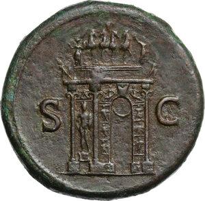reverse: Nero (54-68).. AE Sestertius, 62-68