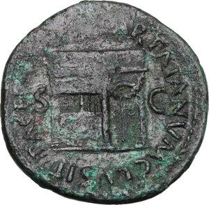 reverse: Nero (54-68).. AE As, 65 AD