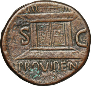 reverse: Nero (54-68).. AE As, Thrace, Perinthuns mint