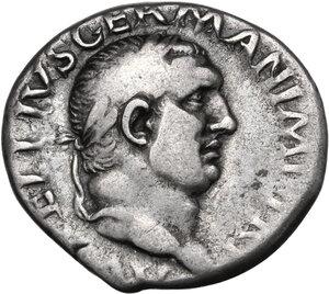 obverse: Vitellius (69 A.D.).. AR Denarius, c. April-December 69