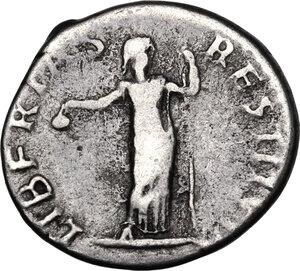 reverse: Vitellius (69 A.D.).. AR Denarius, c. April-December 69