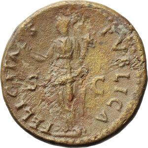 reverse: Vespasian (69-79).. AE Dupondius, 74 AD