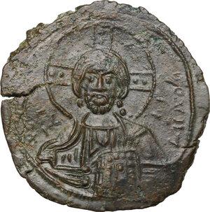 obverse: Constantine VIII (1025-1028).. AE Follis, Constantinople mint