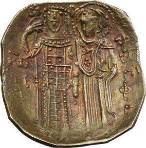 reverse: John III, Ducas-Vatatzes (1222-1254). AV Hyperpyron, Empire of Nicaea, Magnesia mint, 1232-1254