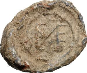 obverse: PB Seal, c. 9th-12th century