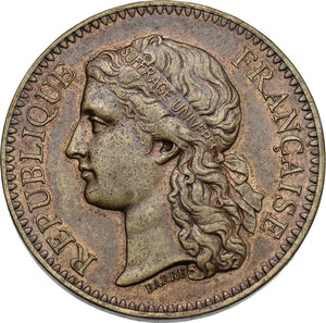 obverse: France. Medal 1878 for the Universal Exposition