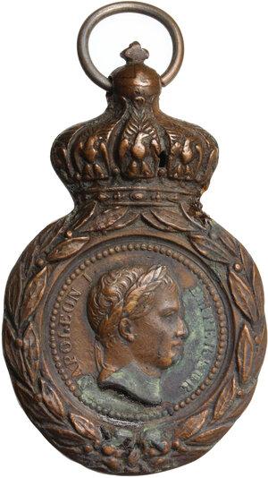 obverse: France.  Napoleon Bonaparte (1801-1815).. AE St-Helena-Medal, 1821