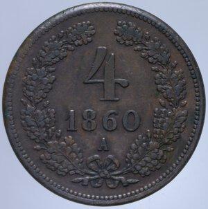reverse: AUSTRIA FRANCESCO GIUSEPPE I 4 KREUZER 1860 A 12,21 GR. qSPL