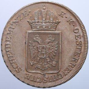 obverse: AUSTRIA FRANCESCO GIUSEPPE I 2 KREUZER 1848 17,74 GR. SPL-FDC