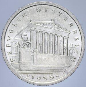 obverse: AUSTRIA 1 SCHILLING 1925 AG. 6,02 GR. FDC