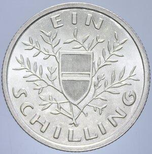 reverse: AUSTRIA 1 SCHILLING 1925 AG. 6,02 GR. FDC